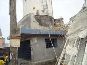Destroyed Public Water Tank