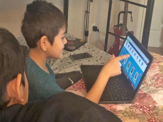 Virtual homework help aids students & parents