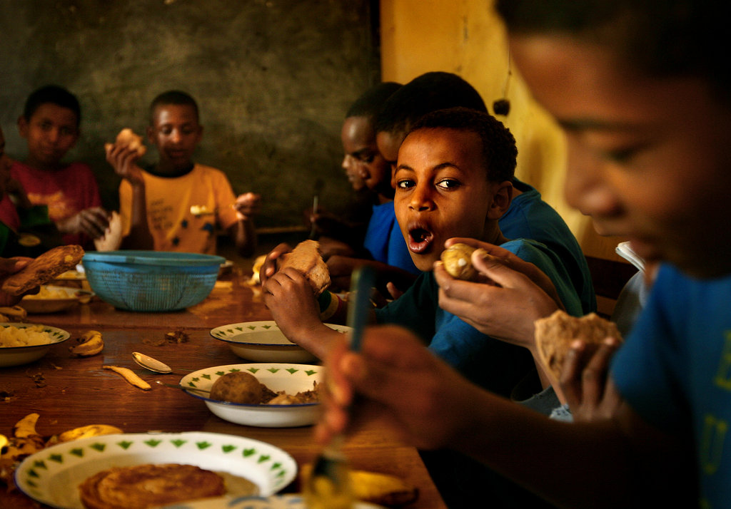 Gift the Gift of a Full Stomach for a Street Child