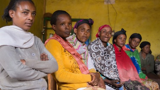 Women's Self Help Group in Hossana, Ethiopia