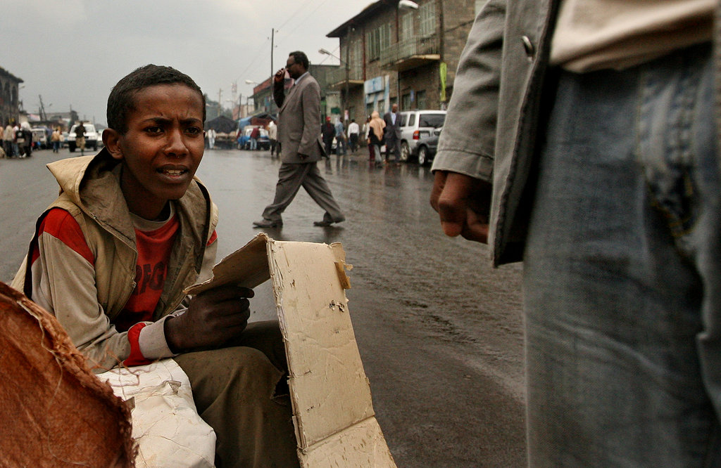 A Street Boy In Addis Ababa