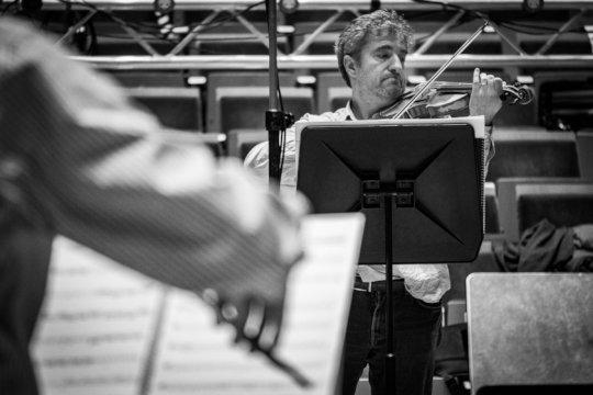 Adrian Chandler directing Brescianello