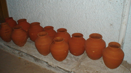 Natural and hygiene Earthen water pots