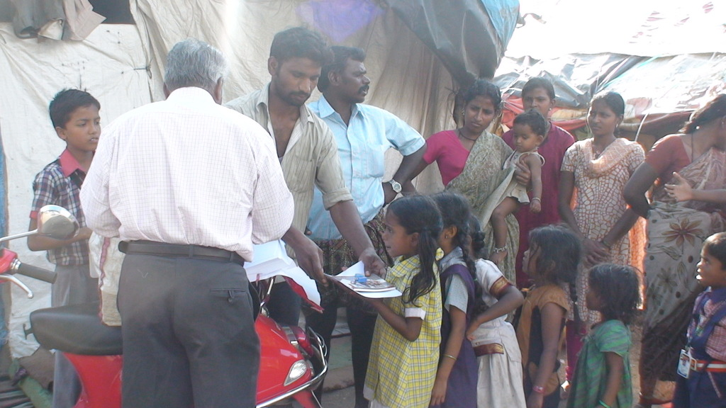 receiving the stationery kit