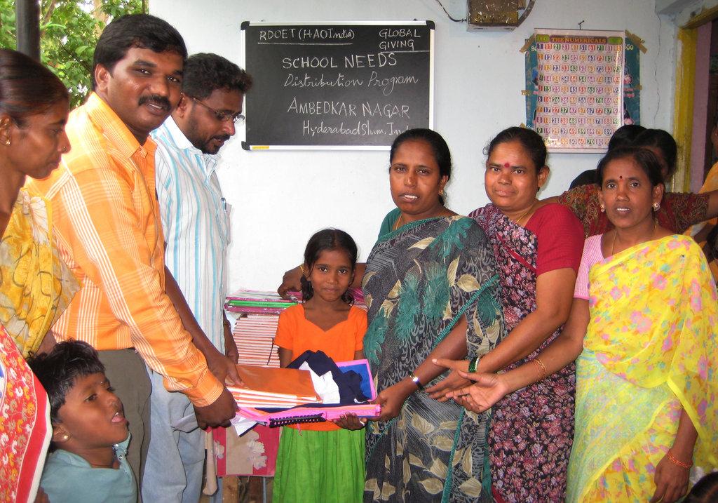 Distribution of School Needs