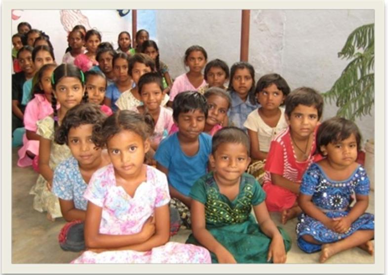 Identified Girl Children in Hyderabad Urban Slum