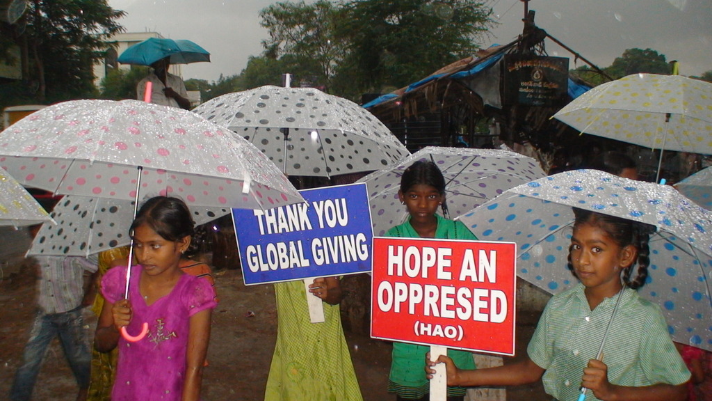 Thanking Globalgiving
