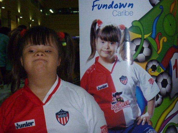 Daniela plays soccer
