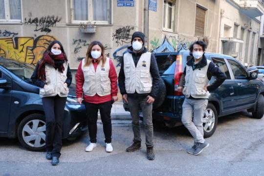 LHR's Streetwork Team