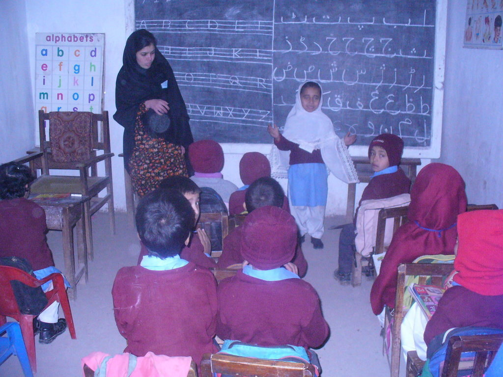 Provide 100 Children in Pakistan with Education