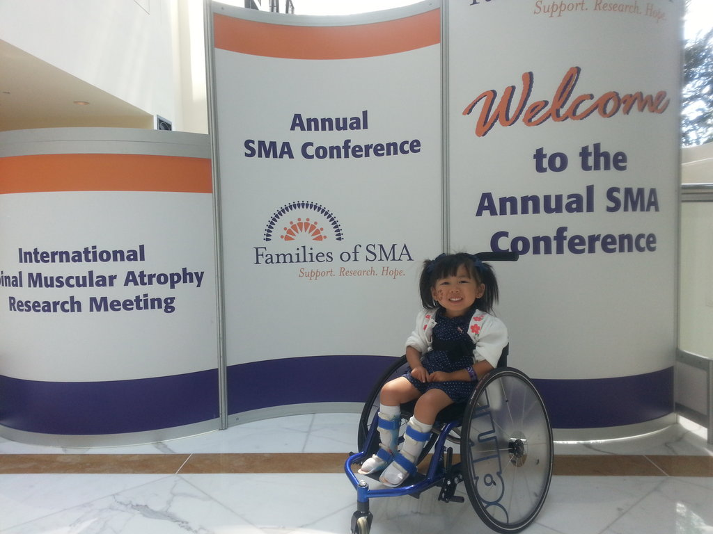 At the SMA conference where she got her chair