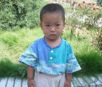 Hua, as he turns three