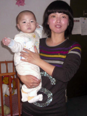 JH and Lili, his caregiver, March 2012