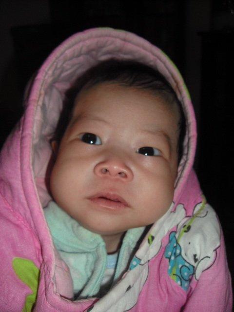 Yin Xi, 5 weeks old