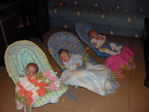 Babies in the foster home