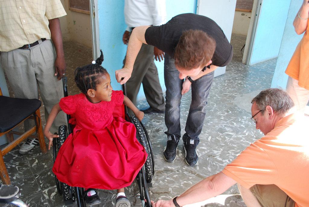 Provide All Terrain Wheelchairs in Haiti