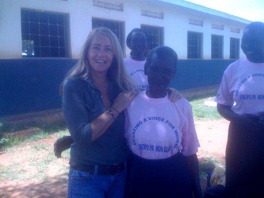 Cecilina, literacy class participant
