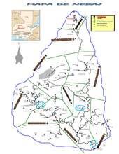 Mapa de Nebaj