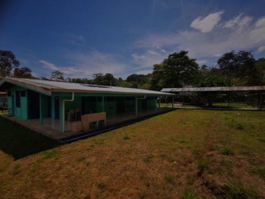Primary school at Alto Guaymi indigenous community