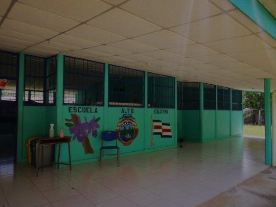 Guaymi primary school. Punta Burica, Puntarenas.