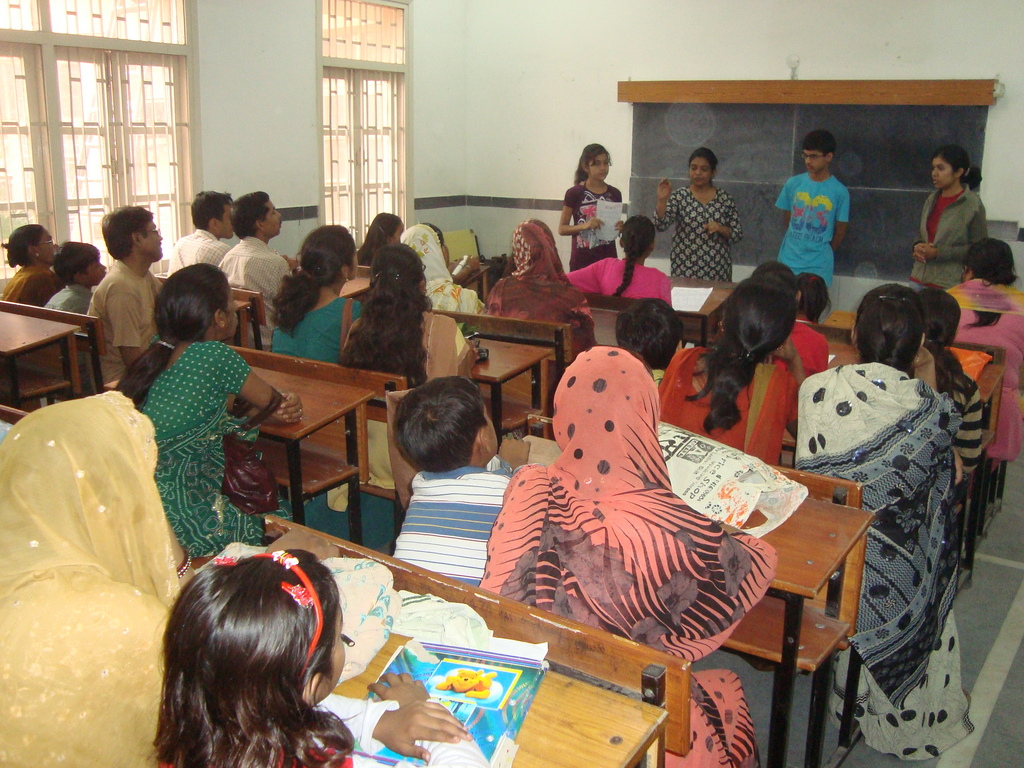 Workshop with Parents & Children