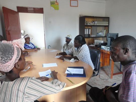 The recent meeting of HIV+ facilitators