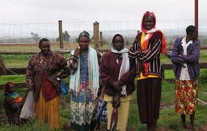 Peer educators in Kenya