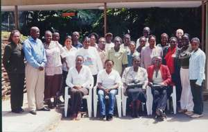 Group photo of earlier participants