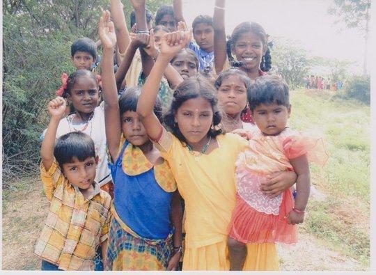 Livelihood training for untouchable girls in India