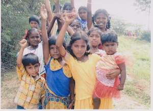 Livelihood training for untouchable girls in India