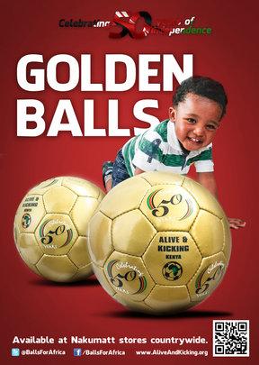 A&K Kenya Commemorative Balls