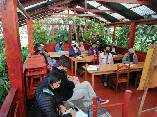 Rural socio-business training class