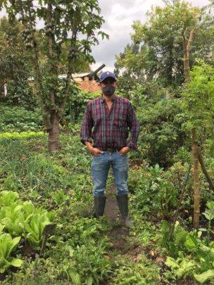 Albeiro at Pedro's Farm