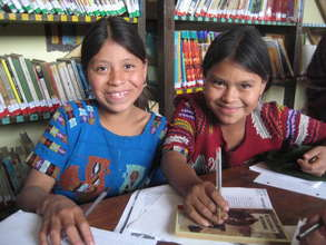 First Public Library in the Mayan County of Chajul
