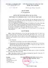 Decision to allow LIN to receive GGfunds  (PDF)