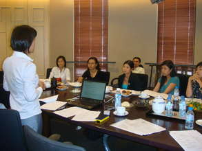 Ms. Ly Trains NPO staff in financial accounting