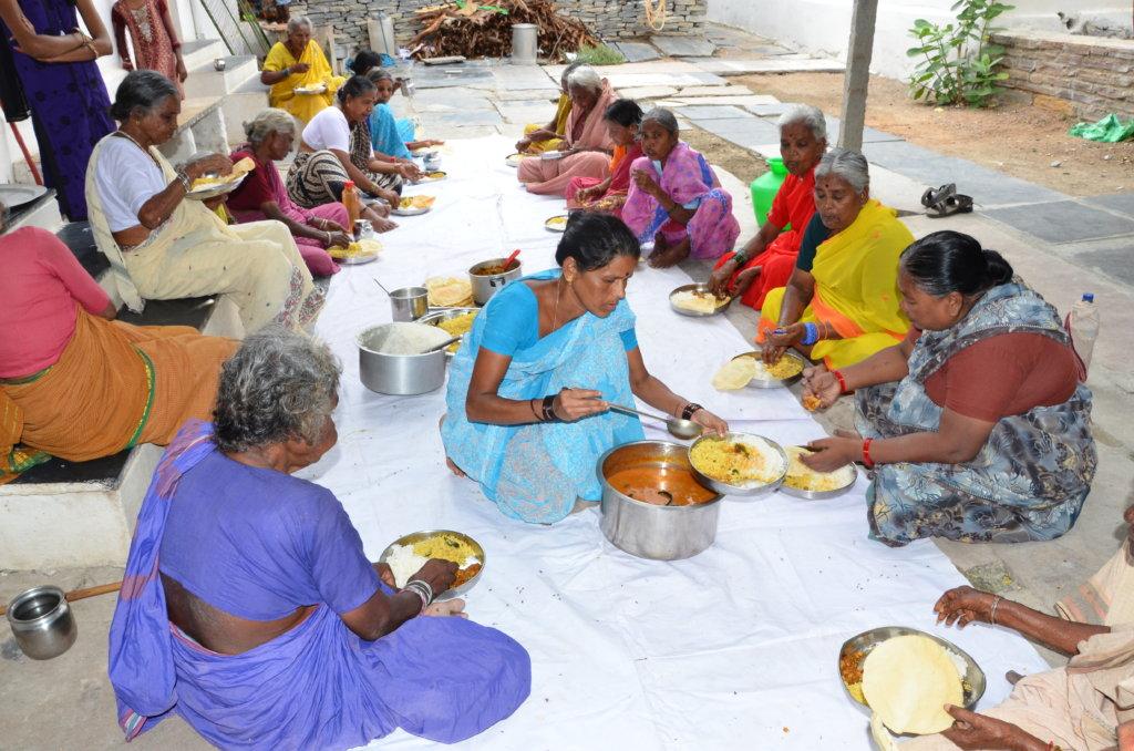 Donate Food for 30 Destitute Elderly People India