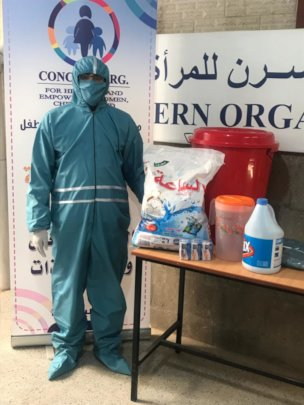 Protective kits for people exposed to infection