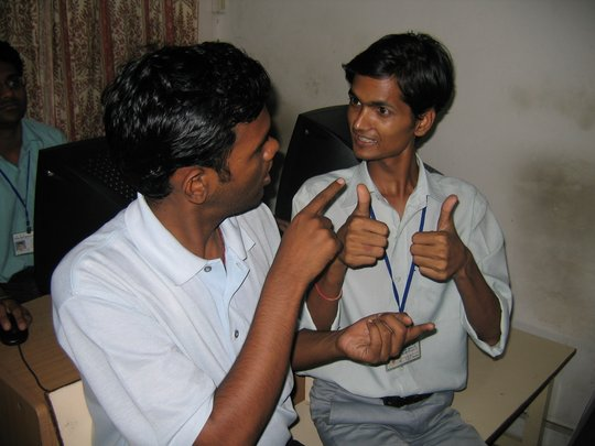 Vocational Training for 100 Deaf Students in India