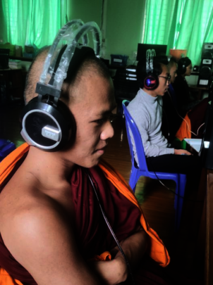 A participant from Myanmar monastery.