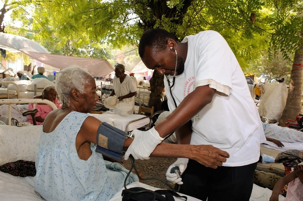 Hope for forgotten older people in Haiti