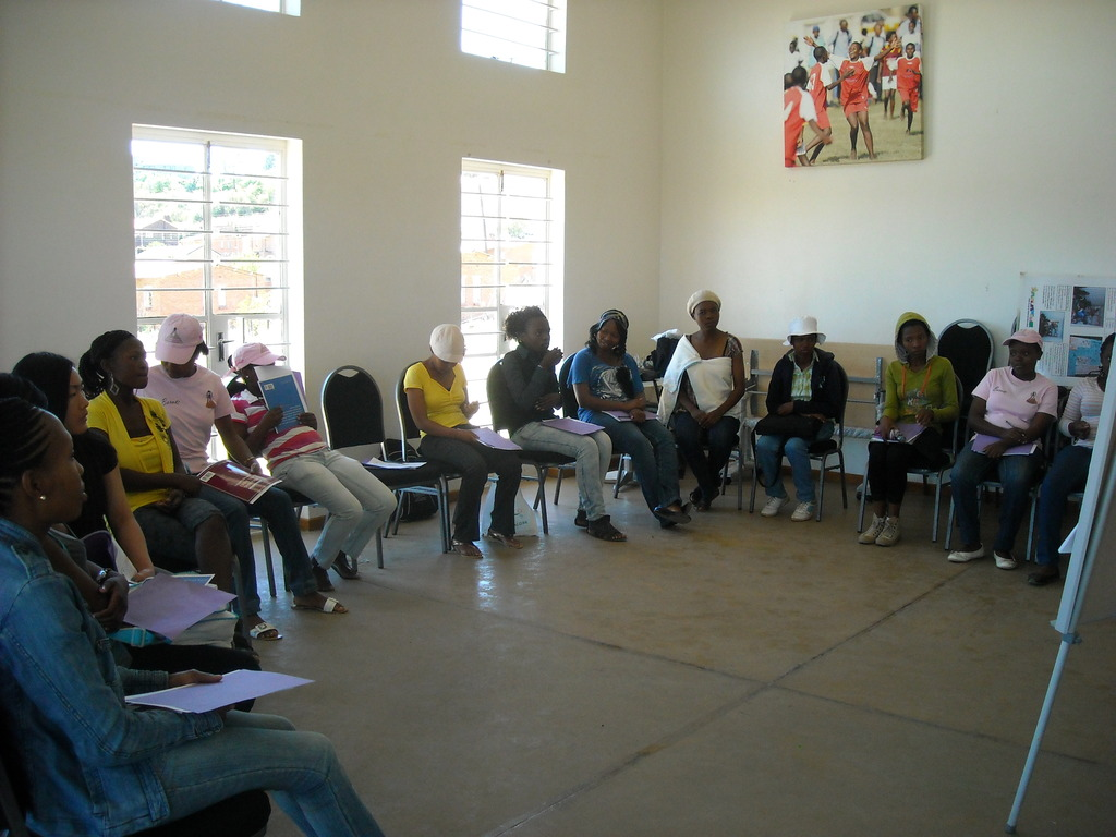 The Women4Women group at their weekly meeting