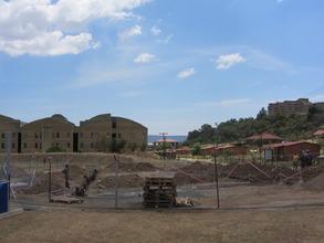 Construction begins