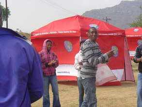 HIV Testing Tents