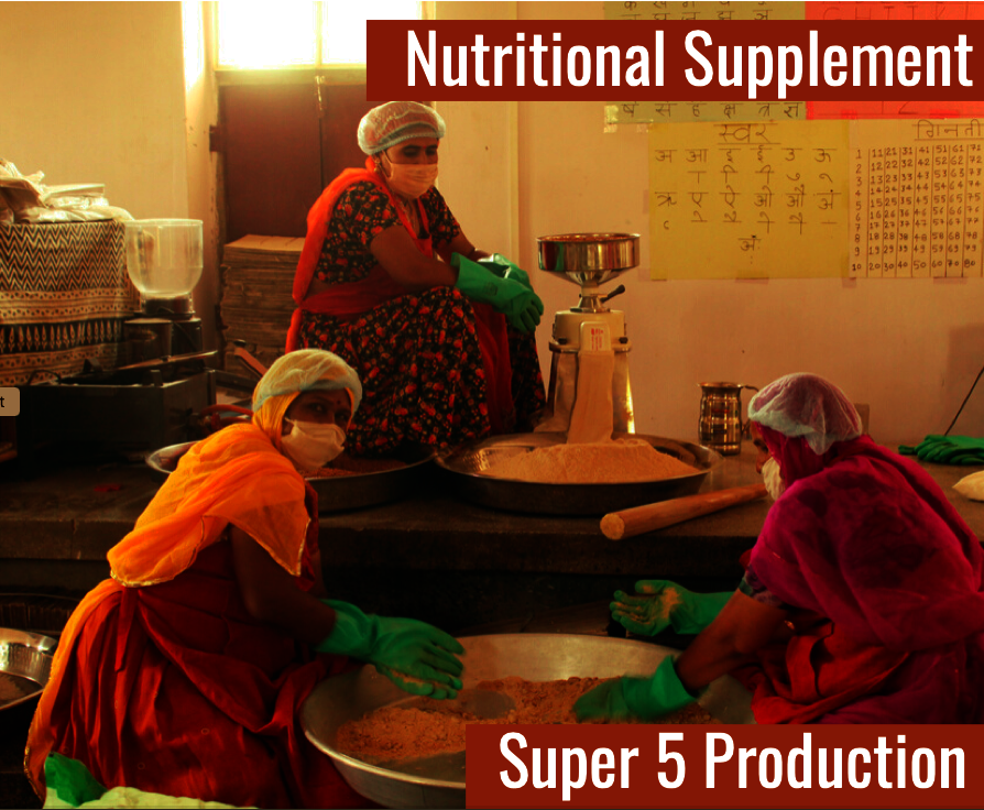Production of Super 5 Nutritional Supplement
