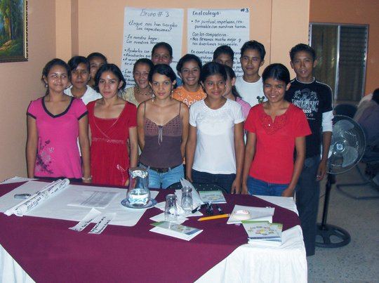 Send 120 youths to high school in Honduras