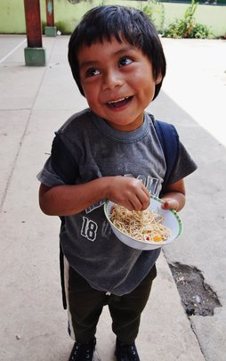 School Meals Improve Learning for Mayan Children
