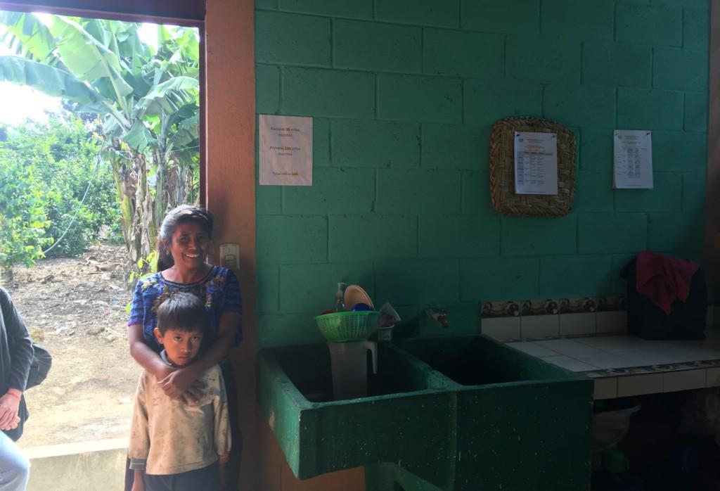 The renovated kitchen at La Cumbre School