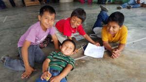 Students enjoying camp!