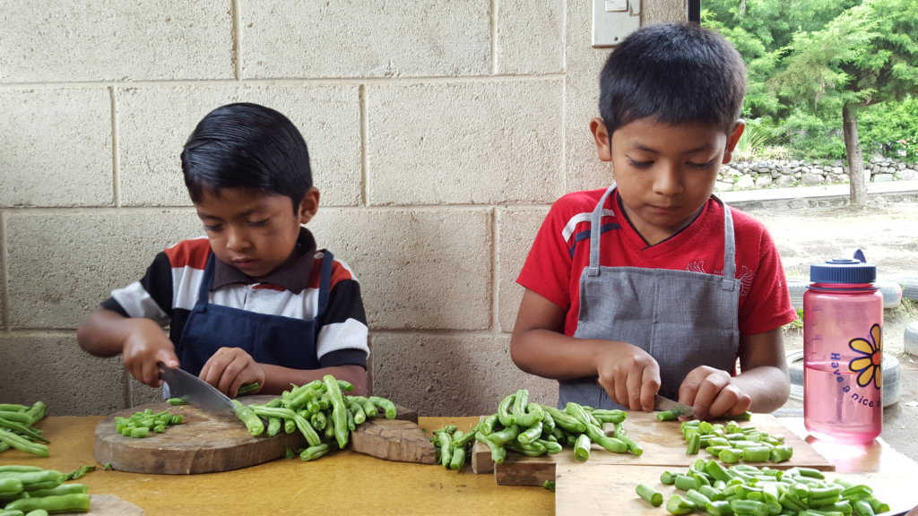 Learning to make nutritious food